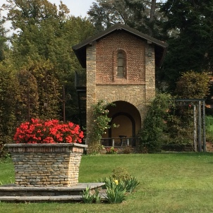 A quiet corner in the park at Poggio Verde