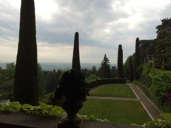 """View from the """"Portico Coperto"""""""