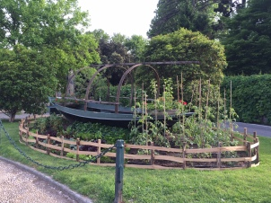 Beautiful and whimsical veggie garden in Cernobbio