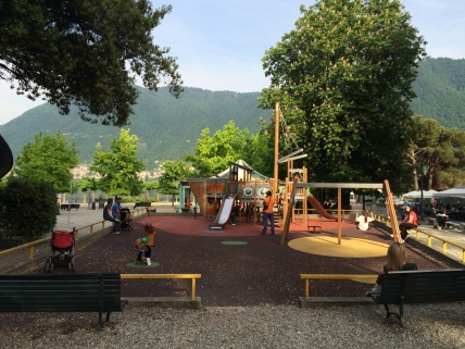Nice little playground in Cernobbio