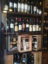 The wine shop in Cernobbio has excellent Italian wines