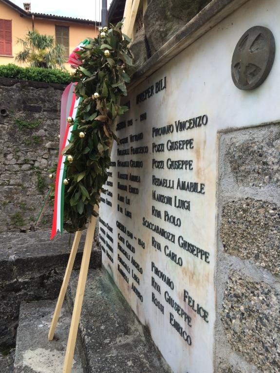 War Memorial in the little town
