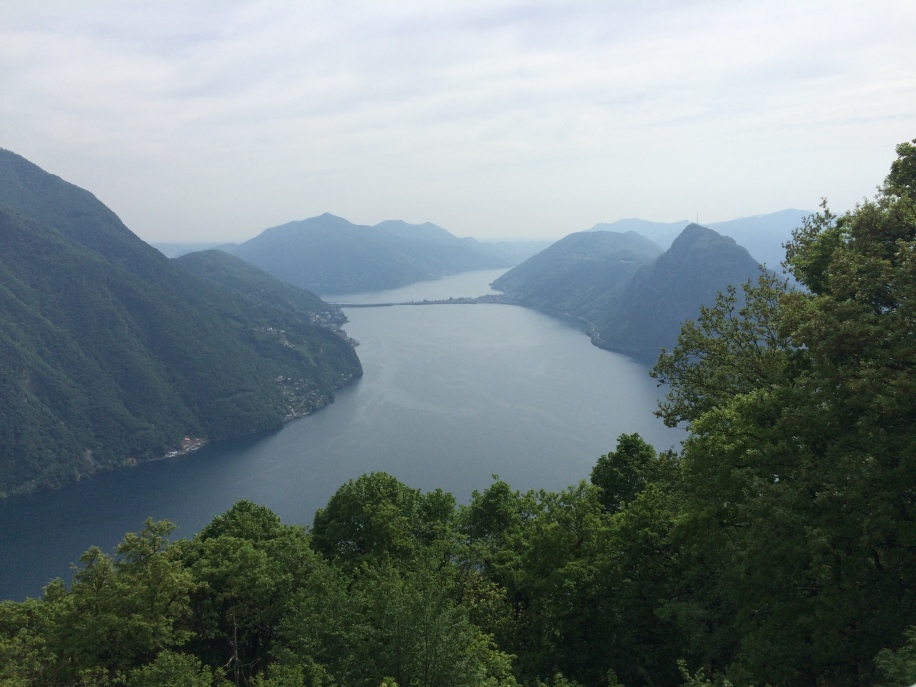 View from the overlook above Monte Bré