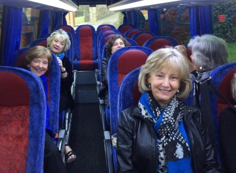 The very comfortable Cazzaniga bus