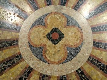 Floor of the church