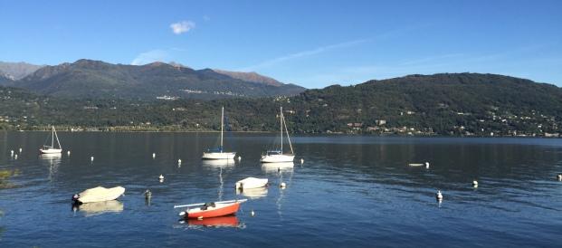 Sailboats on Lago Maggiore