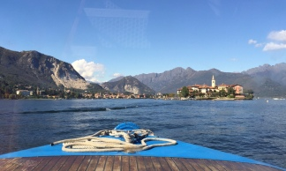 Heading toward Isola Pescatori