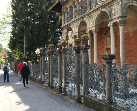 A villa in Brunate, above Como