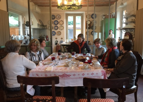 Breakfast at Poggio Verde Country Villa